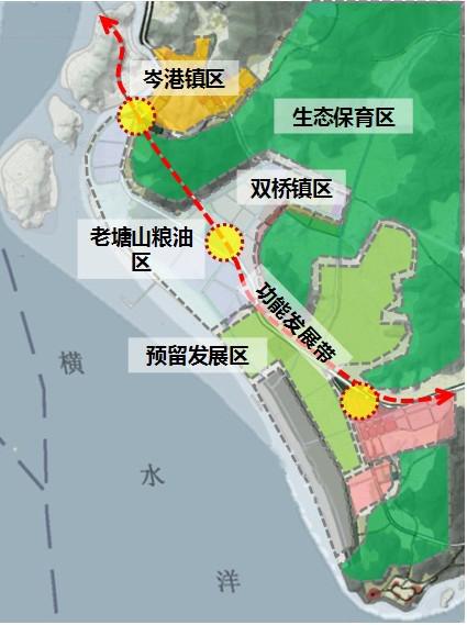 舟山电子信息产业园区定海分区规划图-舟山电子信息产业园区