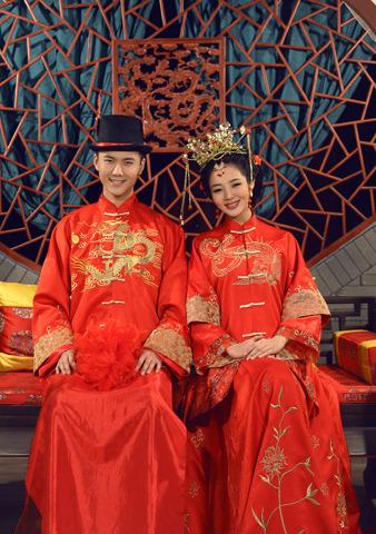 中式婚纱照攻略 注意四步简单搞定图片