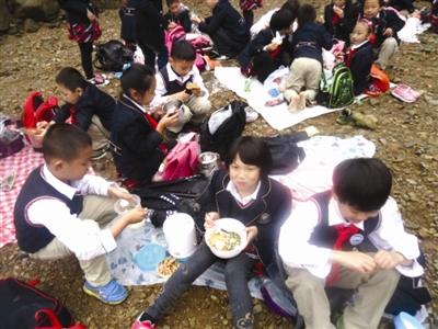 熟溪小学:秋游这门课程很有意思--武义新闻网妹小学袜船图片