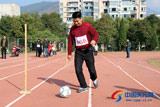 全县首届残疾人运动会开赛