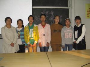 仙岩镇中心学校代表队