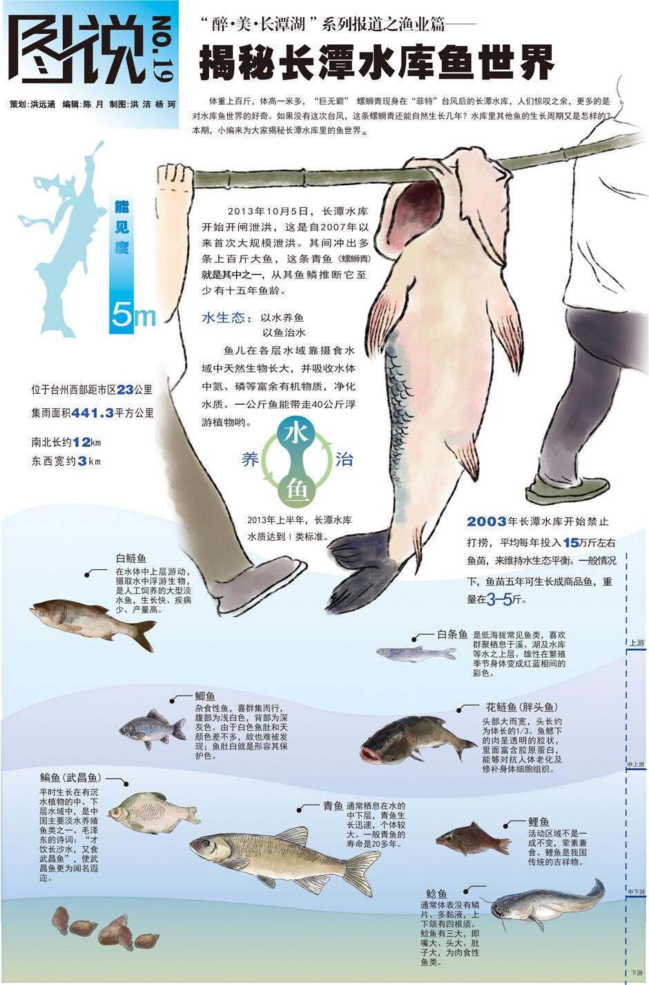 【第19期】揭秘长潭水库鱼世界