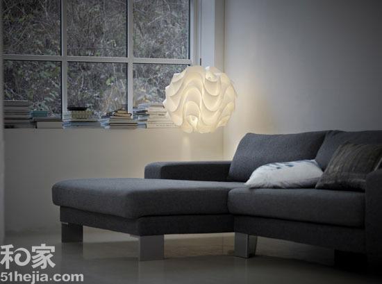柔性照明与硬质材料的角力 细数那些万用吊灯