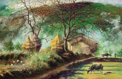 青年画家裘柯油画作品选登