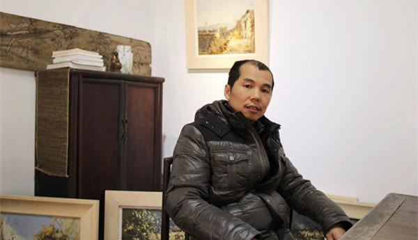 吴志猛专访:让画笔随心灵漫步