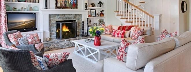 美式田园碎花温馨公寓 复古风格印刻时光触感