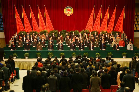 政协区十三届三次会议隆重开幕