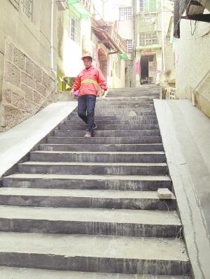 梦见家门口修台阶