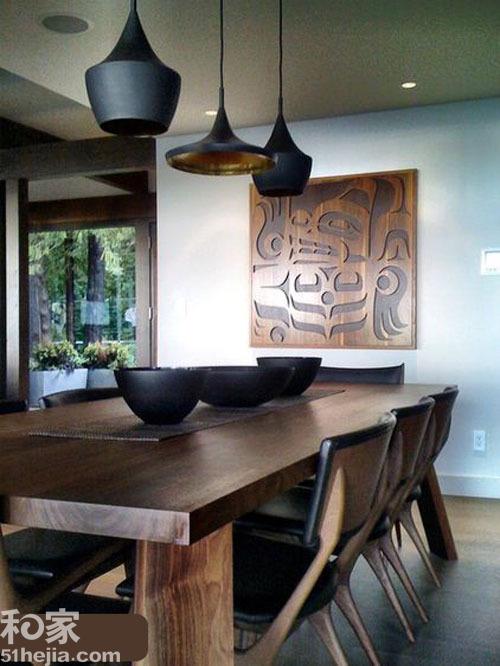 餐厨造型吊灯 打造10个质感好厨房