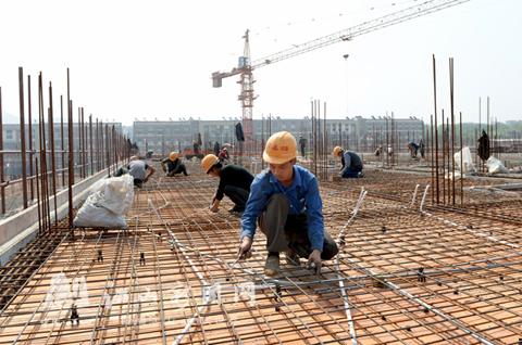 中国消防安保城建设现场