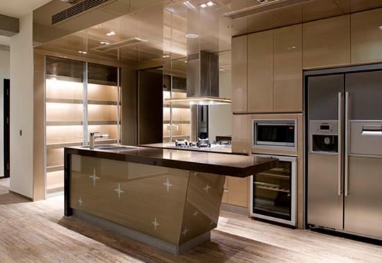 什么叫开放式厨房 开放式厨房吊顶如何选购图片