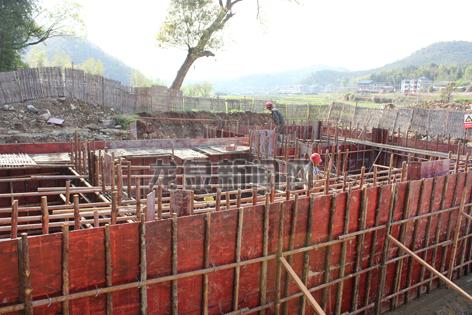 小梅联村型生活污水处理池下月底投入使用