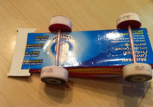 牙膏盒汽车 牙膏盒 牙膏盒做汽车高清图片