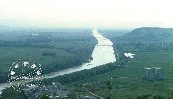 上世纪90年代的长乐江