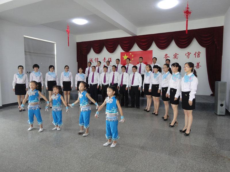 花园岗村文化礼堂开展活动