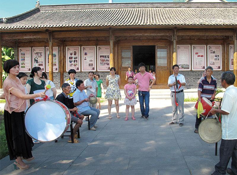 永兴坞村文化礼堂开展培训活动