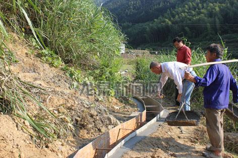 2014年度小型农田水利基础设施项目全面开工