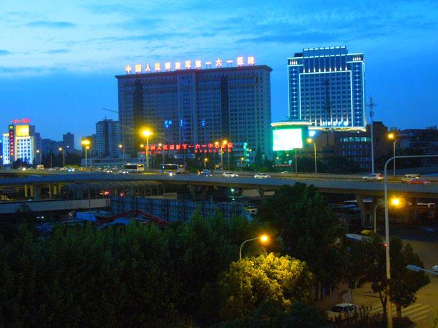 武汉城市的夜晚