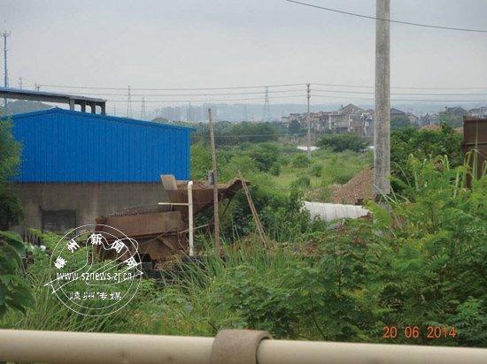 黄泽镇明溪桥头砂场