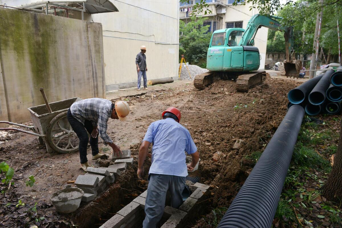 给水排水道施工_室外排水道施工包括哪些施工项目?-室外网工程属于什么
