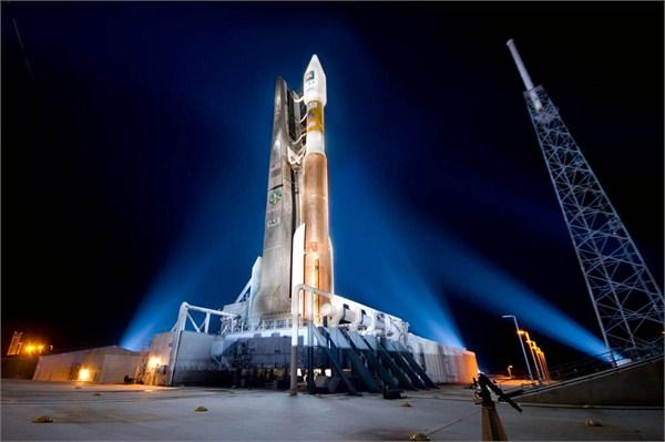 资料图:美国宇宙神v火箭使用产自俄罗斯的rd-180发动机