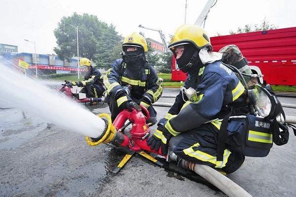 跨区域消防演练