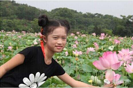 衢江区举办乡村旅游惠民活动暨盛世莲花瓜果亲子采摘节