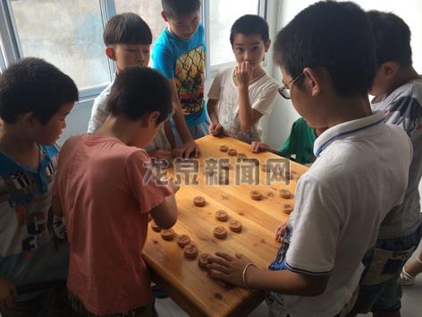 兰巨乡仙仁村为孩子们拓展了暑期活动空间