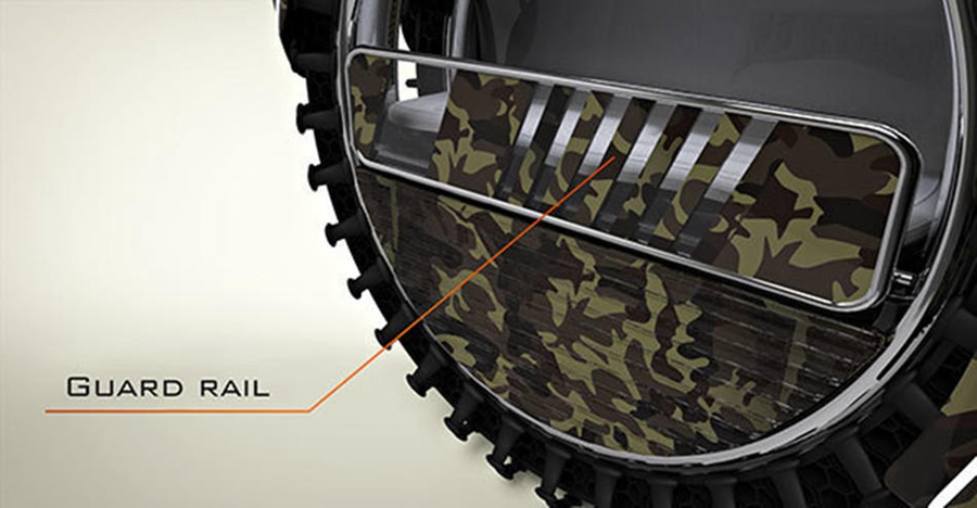 军事营救_突尼斯人设计轮胎形军事救援车轮胎救援衢州