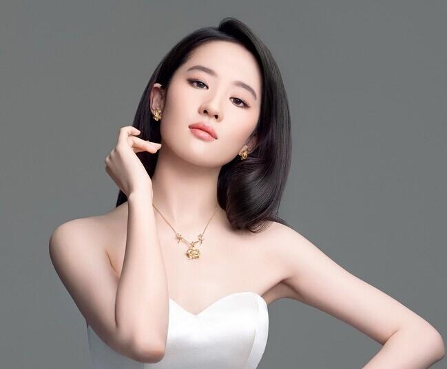 刘亦菲珠宝大片奢华来袭