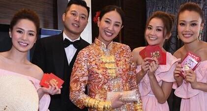 香港女星郑希怡大婚