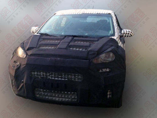 起亚小SUV明年2月推出 与现代ix25同平台高清图片