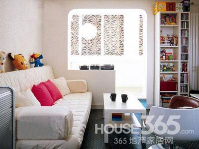 70平米两室一厅装修设计图 小户型大魅力高清图片