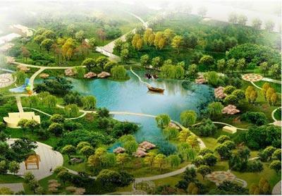 鹿鸣公园及半岛区块项目
