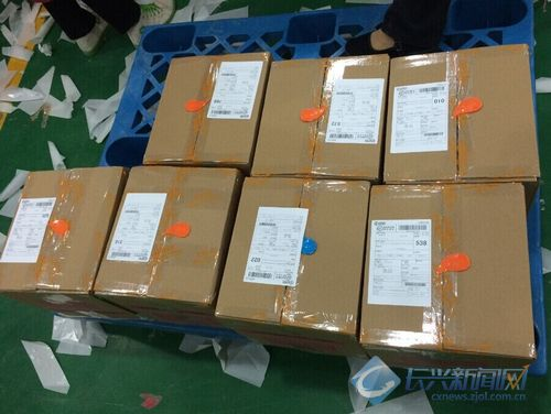 百名打包员对战十万邮包 长兴电商不亦乐乎(