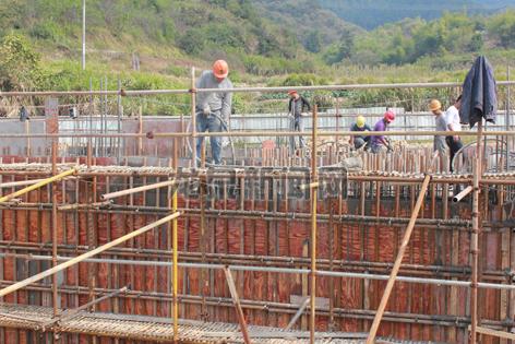 工业园区全力推进大沙区块污水处理厂建设