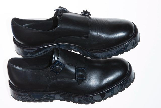 黑色皮鞋emporio armani图片