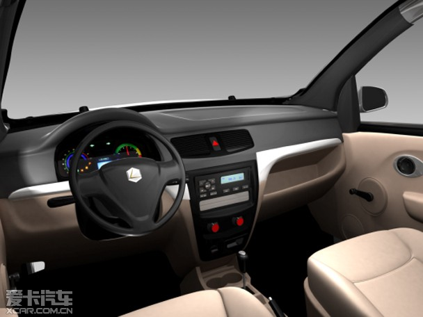 雷丁D70电动车正式上市 售价3.99 4.99万高清图片
