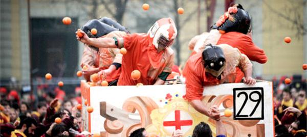 伊夫雷亚狂欢节