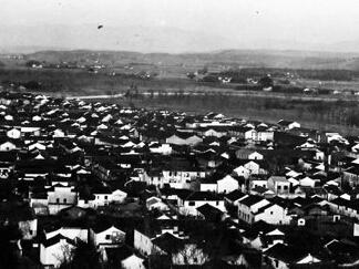建国初期剡溪北岸城关镇