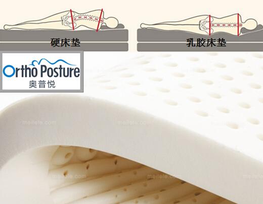 床垫/除了Mlily梦百合的记忆棉之外,乳胶是另一大软床垫材质。