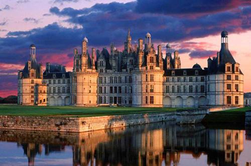 法国卢瓦尔河香波城堡-欧洲古堡旅行