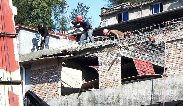 违法建筑 坚决拆除(图)