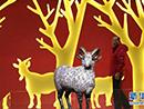 南京举办羊年生肖文物展