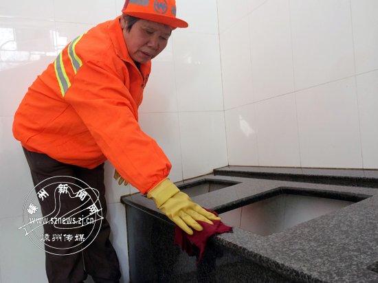 公厕保洁员钱苗芬:既然工作了,就要做最好