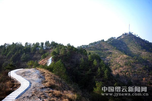 白云山公园游步道