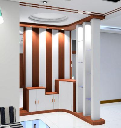 玄关装修效果图 别样家居设计案例高清图片
