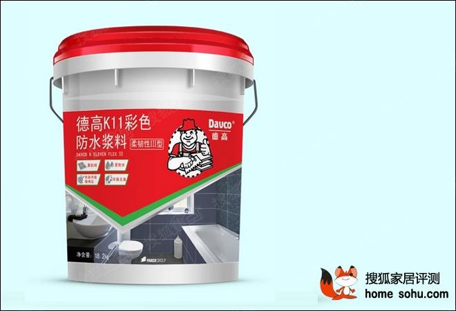 德高K11彩色防水浆料评测-轻松解决防水难题 德高K11彩色防水浆图片