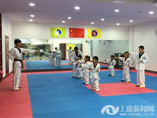上虞不少孩子热衷v孩子跆拳道--虞城新闻网视频走山图片