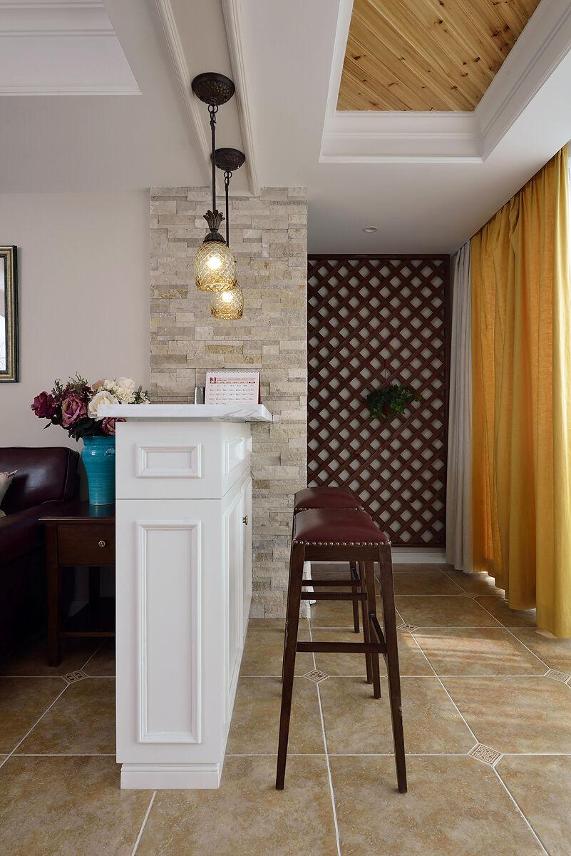 160㎡复式 美式风格设计新居所